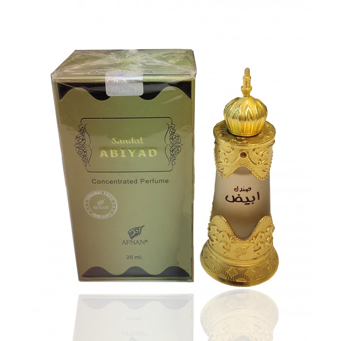 Non Alcoholic Sandal Abiyad Concentrated Perfume Deodorant For Men & Women 20 ml