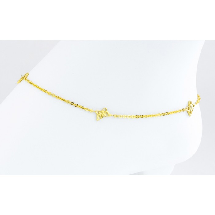 Woman's Anklets Gold plating
